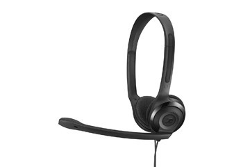 Auscultadores com aro para a cabeça com micro Sennheiser PC 5 Chat